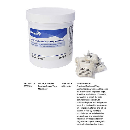 Powder Grease Trap Maintainer