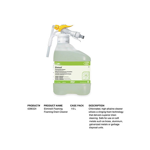 ElimineX Foaming Drain Cleaner (5L)