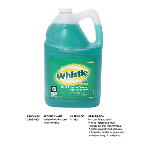 Whistle Multi-Purpose Cleaner With Ammonia