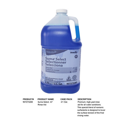 Suma Select  A7 Rinse Aid