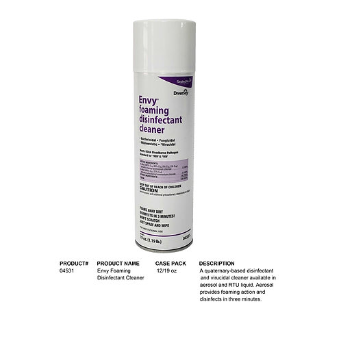 Envy Foaming Disinfectant Cleaner
