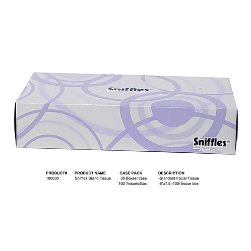 Sniffles Brand Tissue