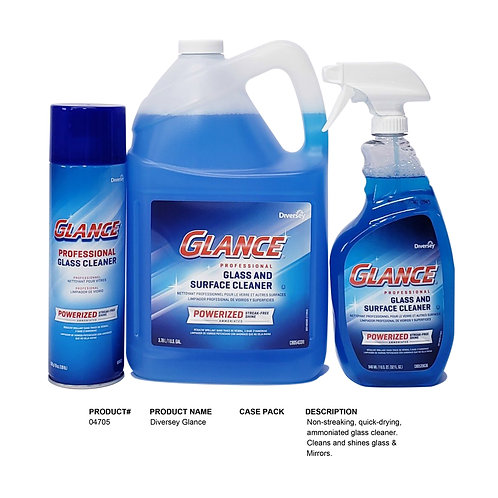 Diversey Glance Glass and Surface Cleaner 32oz