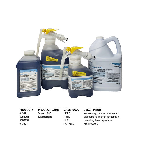 Virex II 256 Disinfectant 2/2.5 L