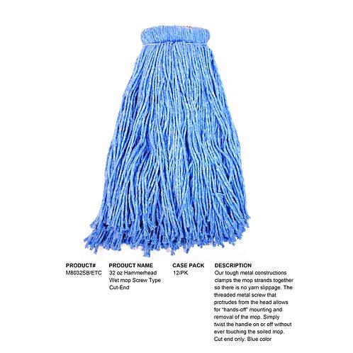 Large Blue/Loop Torpedo Blended Yarn