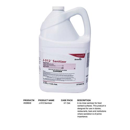 Diversey J-512 Sanitizer 1 Gal.