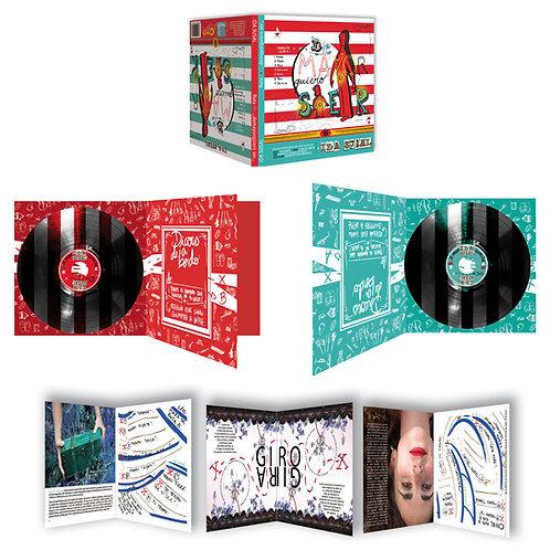 Disco-Libro-Dvd signado-Audiolibro-Barco pirata