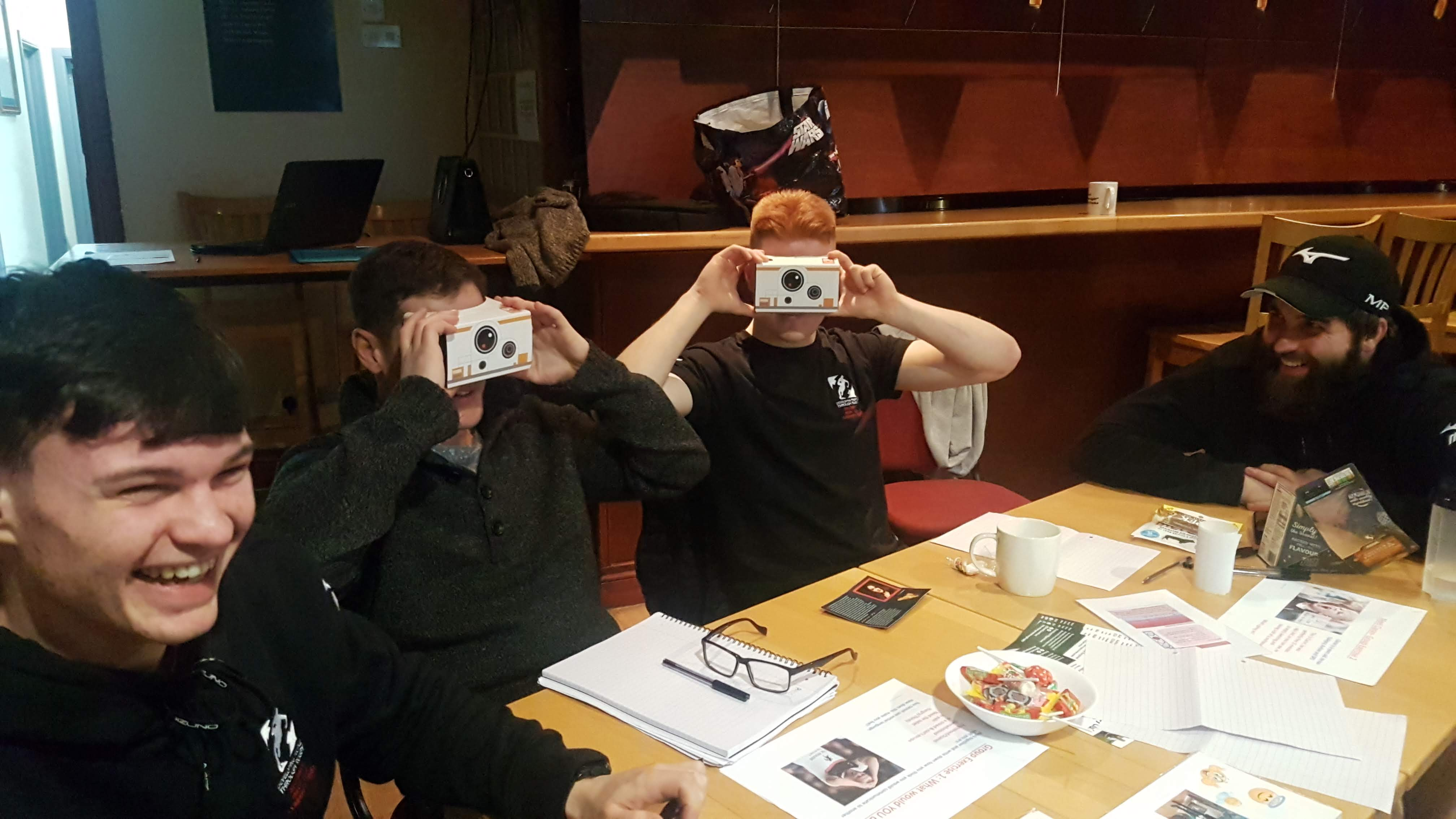Virtual Reality was a hit!
