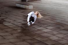 Stefani - skating
