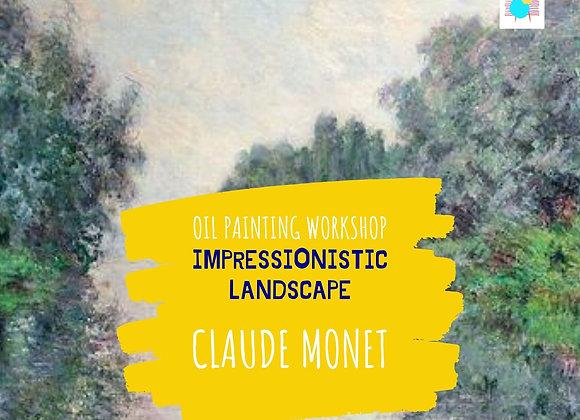 Impressionistic Landscape Course-Claude Monet