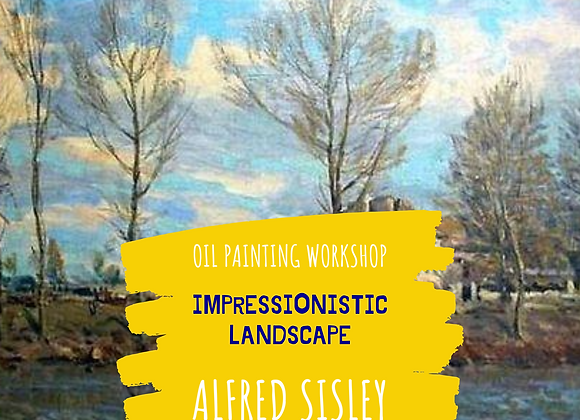 Impressionistic Landscape Course - Alfred Sisley