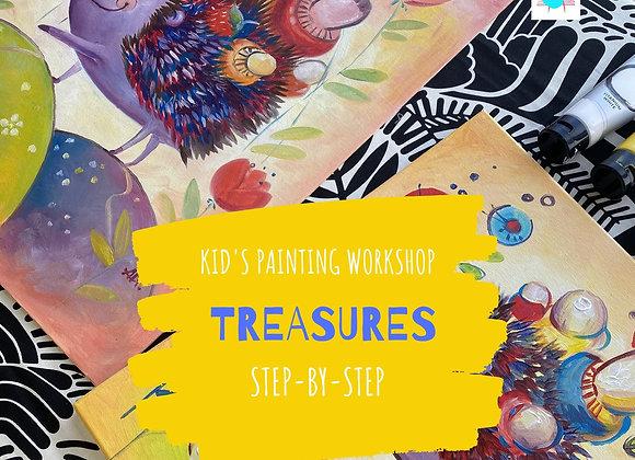 Treasures - Kid's painting workshop