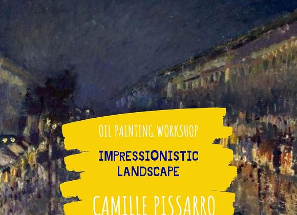 Impressionistic Landscape-Camille Pissarro