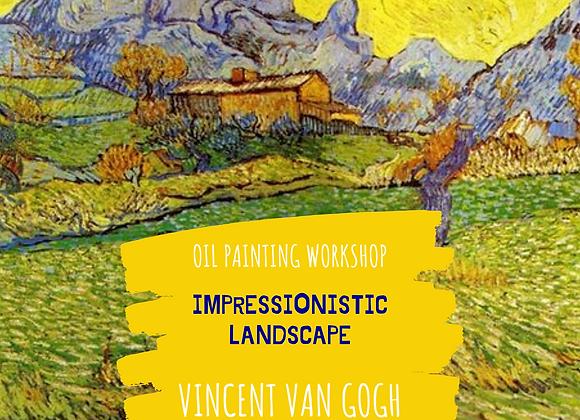 Impressionistic Landscape Course - Vincent Van Gogh