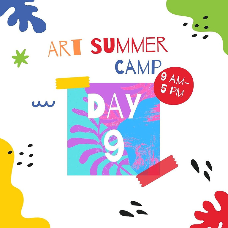 Art Camp - Day 9 -  Can you find a cunning fox in the bush.