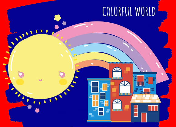 Colorful World for  Kids