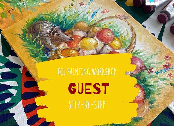 Guest - oil painting workshop