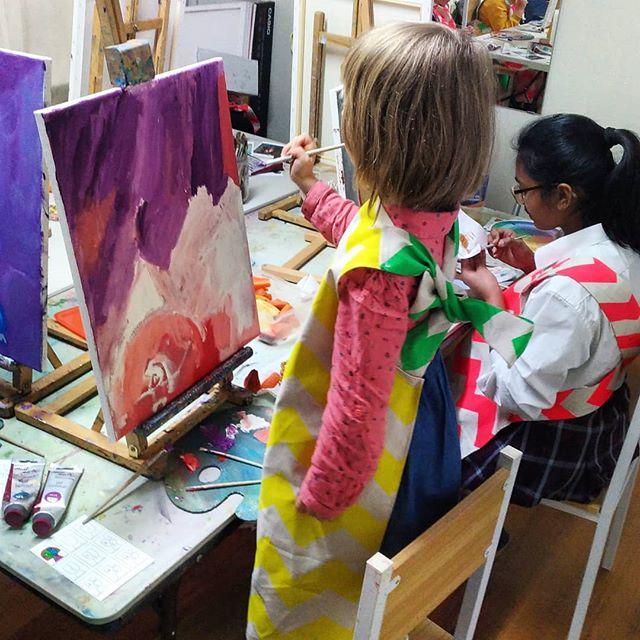 Picasso style portrait. Part_2_Kids clas