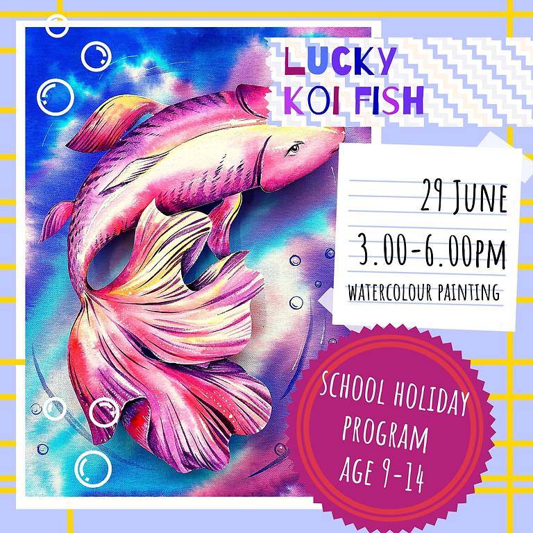 LUCKY KOI FISH - school holidays workshop