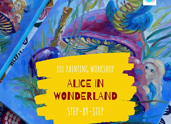 Alice in Wonderland - Oil painting workshop