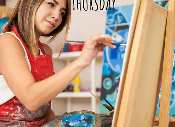 Classic Oil Painting for Adults- Thursday nights