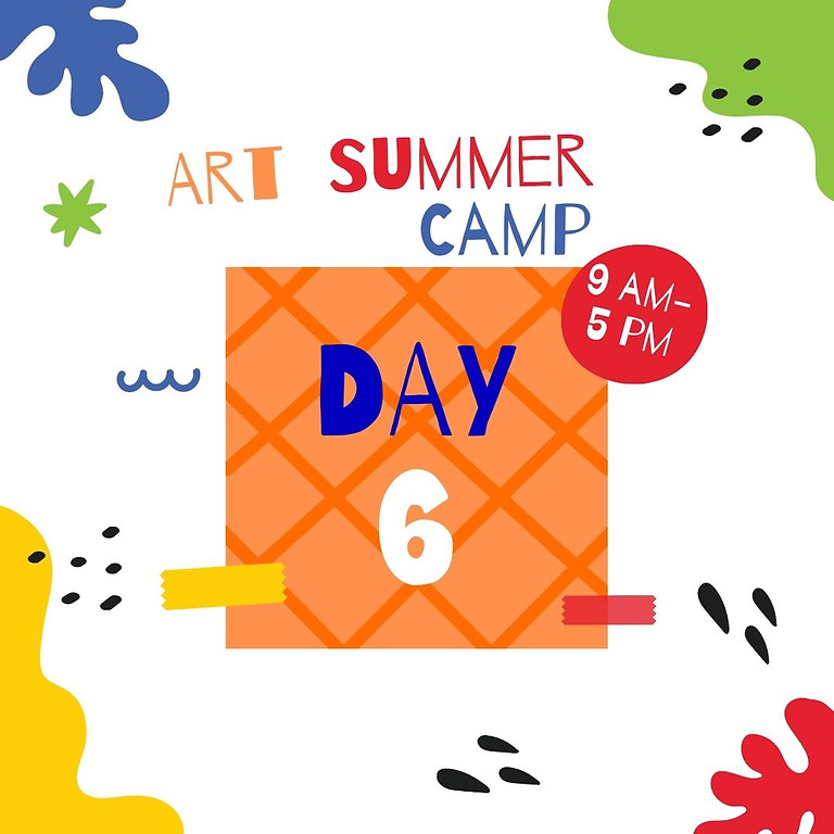 Art Camp - Day 6 - Look! What is in the sky?