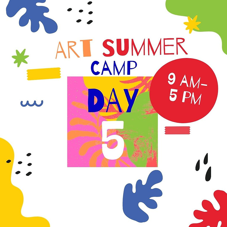 Art Camp - Day 5 - Art friends in Bentleigh reserve.