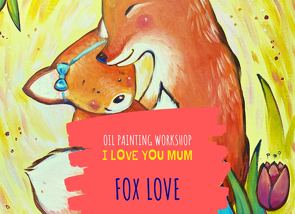 I love you Mummy! Fox love