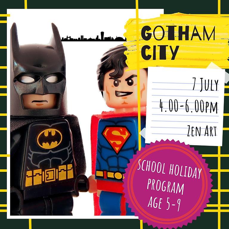GOTHAM CITY - school holidays fun workshop