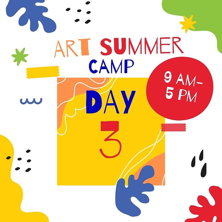 Art Camp - Day 3 - Ducks of Karkarook Park.