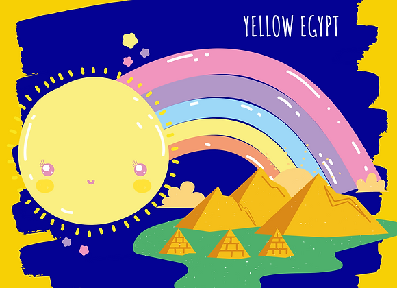 Yellow Egypt for kids