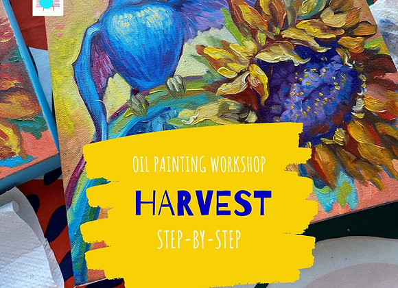 HARVEST- oil panting workshop