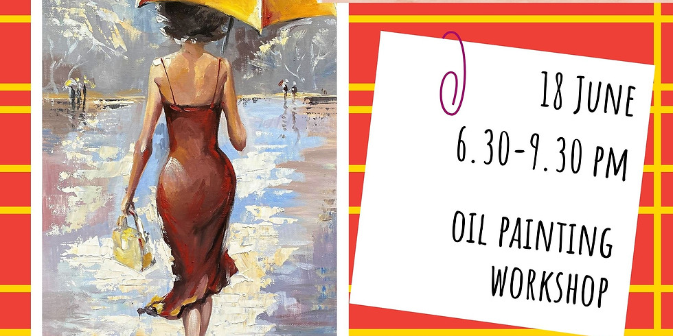 CBD. READY FOR WORK - oil painting social workshop
