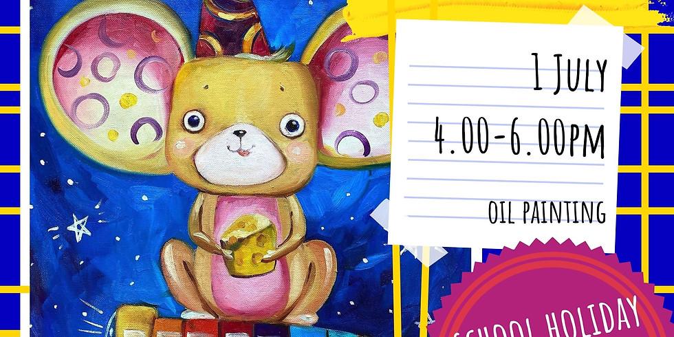 CHEESY MOON DISCOVERER - school holidays fun workshop