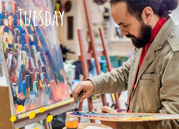 Classic Oil Painting for Adults- Tuesday nights