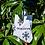 Thumbnail: OBN White Tote Bag