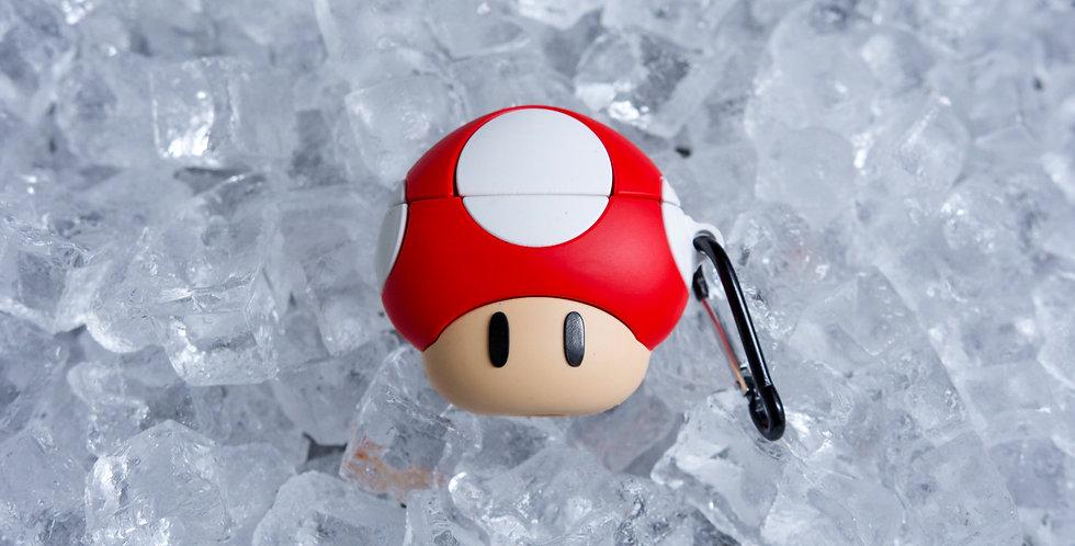 Mario Mushroom AirPods Case