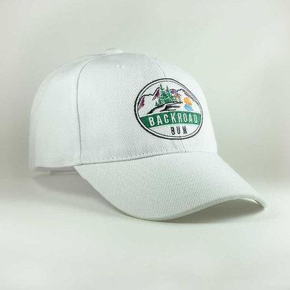 Backroad Bum white cap