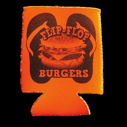 Flip-Flop Orange Koozie