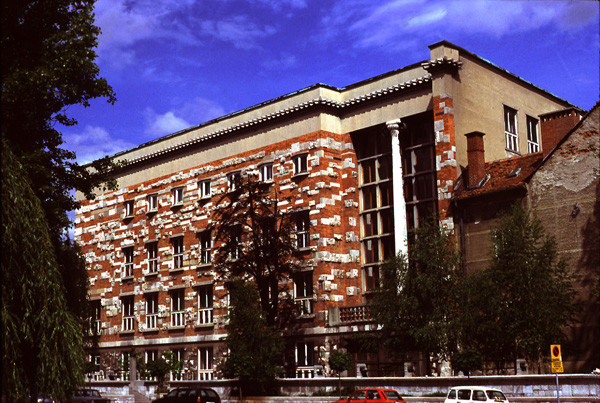 Plečnik's National and University Library