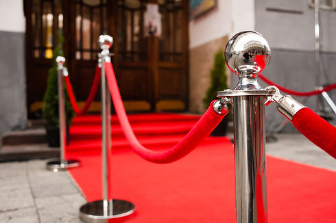 Red Carpet -  is traditionally used to m