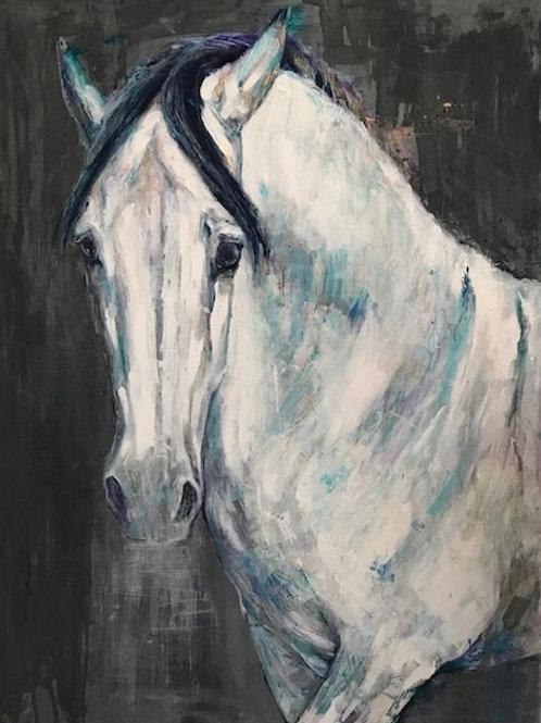 """El Lider""  Limited Edition Canvas Print 75cm x 100cm"