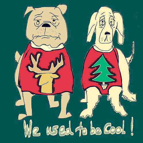 We Used to be Cool Christmas Card