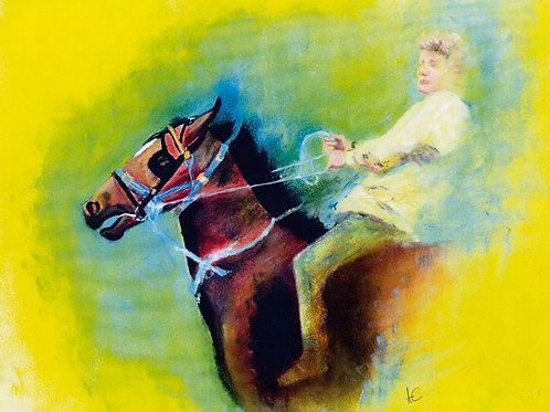 Horse Fair - Greeting Card
