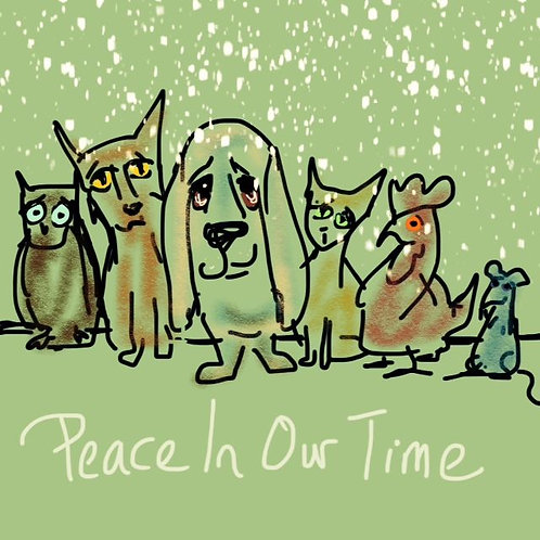 Peace in our Time Christmas Card