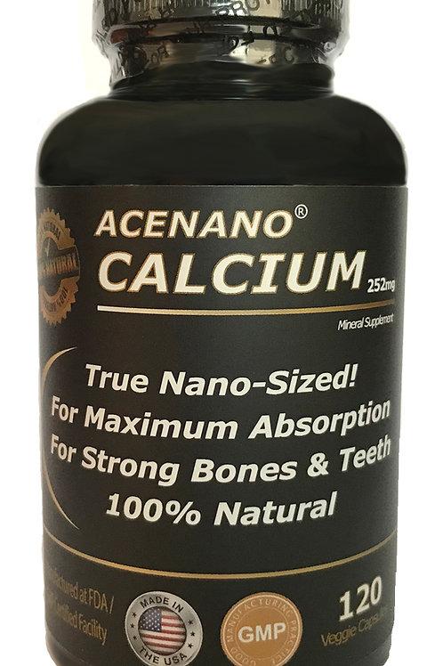AceNano Calcium 120 Counts - (60 Day Supply)