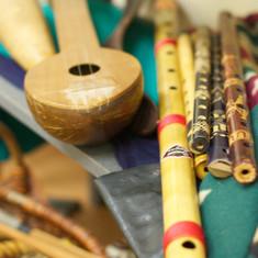 Flute and ukulele
