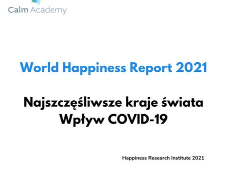 Raport: World Happiness Report 2020