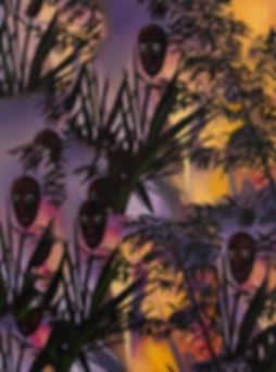 Kaleidoscope Eyes, 2019, oil on canvas,