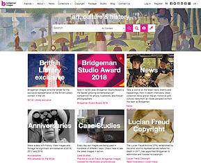 Bridgeman Images website home page_edite